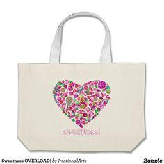 Sweetness OVERLOAD! Jumbo Tote Bag