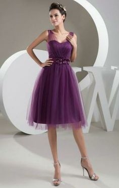 Buy short prom dress sexy fashion Dresses v neck dress party dress bridesmaid dress for wedding lace up simple cheap Hand made Dresses Plus size Dresses wedding party dress summer dress at Wish - Shopping Made Fun Knee Length Cocktail Dress, Satin Cocktail Dress, Cocktail Dresses, Inexpensive Homecoming Dresses, Fall Wedding Dresses, Formal Dresses, Prom Dresses, Wedding Lace, Purple Wedding