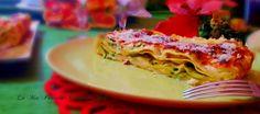 Lasagne+con+zucchine+e+besciamella+al+forno