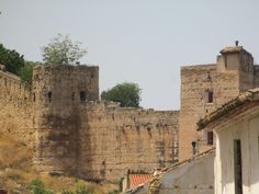 Remnants of castle in Xativa Spain