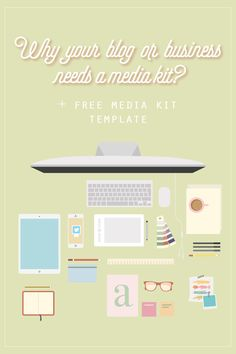 Why your blog or business needs a media kit? + free media kit template, Media Kit, how to create a killer media kit, free media kit template, graphic design