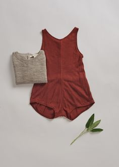 SS'16 Vetiver baby Romper, Sequoia, Caramel Baby & Child.