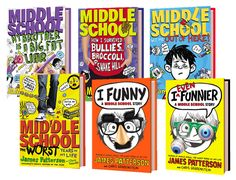 Make middle school more fun with James Patterson (giveaway ends 12/15/13) #IEvenFunnier - She Scribes