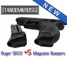 "Ruger SR22 Rimfire Pistol ""Wingman""  5 Magazine Bumper by TANDEMKROSS - $10.99"