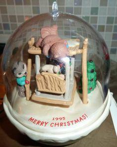 "Hallmark Keepsake 1995 ""Forest Frolics"" Light and Motion Ornament with Box 7 | eBay"