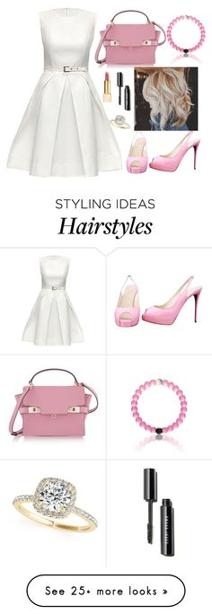 """Untitled #843"" by maria-canas on Polyvore featuring Lattori, Tory Burch, Henri Bendel, Christian Louboutin and Allurez"