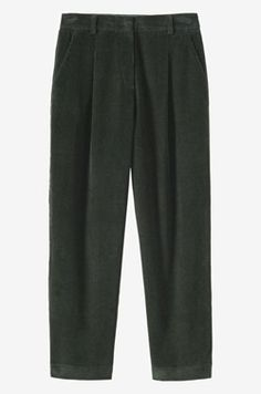Cord Pleat Front Trouser | TOAST