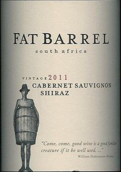 "APRIL: Fat Barrel Cabernet Shiraz 2011 - ""This very smooth, medium-bodied red blend from South Africa starts with loads of jammy black currant and cherry flavors which are complemented nicely with nuances of black pepper, tobacco, cedar and vanilla. Hard to find a better value at this price point!"" The Wine Buyer, 91 Points"