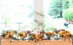 ユーカリとソフィア ラマージュ様の装花 : 一会 ウエディングの花