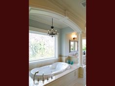 Who doesn't want a Jacuzzi with a window view? Call Cranbrook Custom Homes (586) 781-7900 if you are looking for a top-quality custom home builder.
