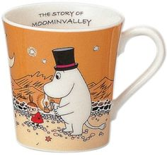 Moomin Valley Mug Cup Yamaka Orange Moominpappa from Japan Gift Les Moomins, Moomin Mugs, Moomin Valley, Tove Jansson, Marimekko, Cool Items, Mug Cup, Classical Music, Nikon