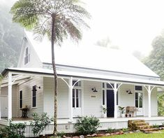 A storybook cottage wants a palette of earthy tones as creams, browns, rusts and other colors that tie the house to the ground. Whether introduced in the landscaping or as accents in the architecture, these colors keep the house from… Continue Reading → Café Exterior, Exterior Design, Exterior Colors, Exterior Remodel, Modern Exterior, Beach Cottage Style, Beach House Decor, Country Style Houses, Style At Home
