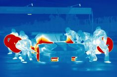 BMW M4 DTM - Images From An Infrared Camera - http://www.bmwblog.com/2014/05/24/bmw-m4-dtm-images-infrared-camera/