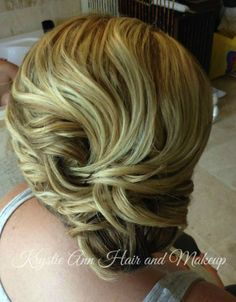 Hair: www.krystieann.com  Wedding hair, bridal hair, updo, wedding hair styles, blonde updo, bridesmaid hair, bridesmaid updo, beach wedding hair, melia caribe tropical, punta cana wedding, punta cana bride, prom hair