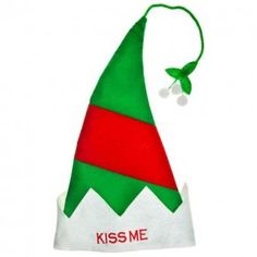 "Christmas ""kiss Me"" Hat"