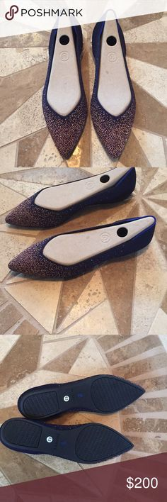 3599212d7fee5 Rothys midnight metallic points, size 6.5 New Rothy's midnight metallic  points in 6.5. Only
