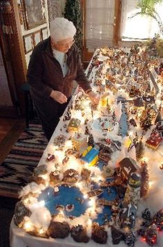 Christmas Village Ideas   Sometimes it takes a village ... Broomfield woman's holiday not ...