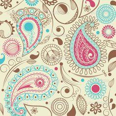paisley pattern | Paisley pattern | Stock Vector © Danussa #6192223