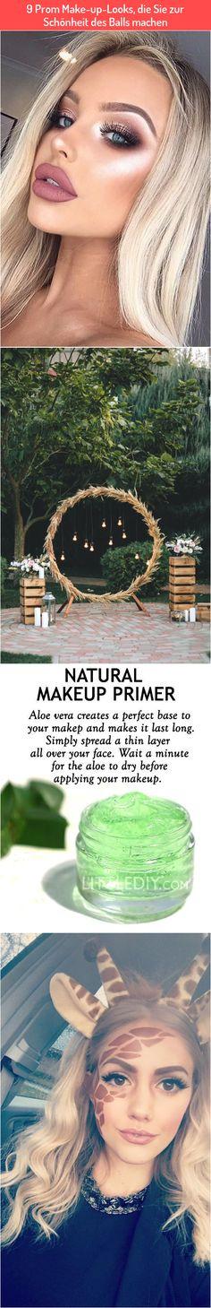 9 Prom Make-up-Looks, die Sie zur Schönheit des Balls machen Best Makeup Primer, Best Makeup Products, Make Up Looks, Makeup Yourself, Natural Makeup, How To Apply, Face, Cara Makeup Natural, Makeup Looks