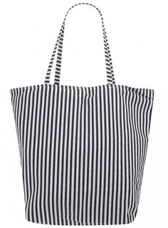 Dorothy Perkins Holiday Navy Stripe Canvas Shopper