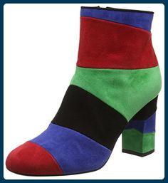 Moschino Damen Sca.Nod.CHIARA85 Cam.Multicolore Kurzschaft Stiefel, Multicolor (99B), 37 EU - Stiefel für frauen (*Partner-Link)