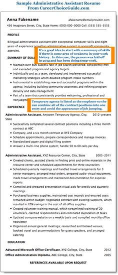 cool Sample to Make Administrative Assistant Resume, resume - administrative assistant resume sample