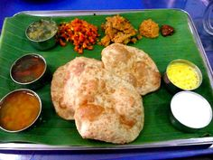 Vegetarian Food of Chennai.