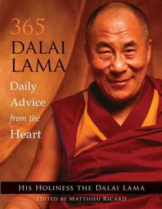 Imagine having an audience with the Dalai Lama every day, receiving personal advice about how to make your life better and more joyful. 365 Dalai Lama offers exactly that: short and inspiring words of