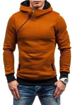 2ee15d6af06e1 2017 Fashion Brand Hoodies Men Sweatshirt Male Zipper Hooded Jacket Casual  Sportswear Moleton Masculino Men Hoodie