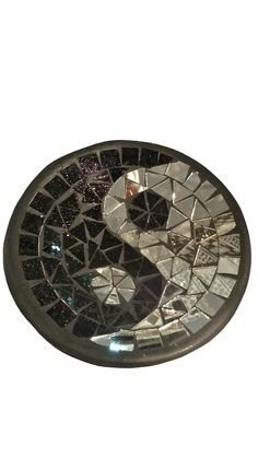 Round Plate Yin Yang (15 cm-0.3 kg)