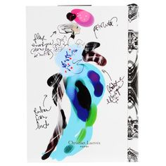 Fashion Sketch Notebook design by Christian Lacroix (8.60 CAD) ❤ liked on Polyvore featuring home, home decor and stationery