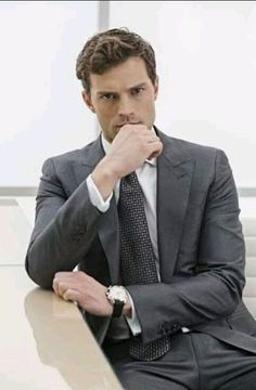 """Jamie Dornan"" ""Christian Grey "" in ""Fifty Shades Of Grey"" Jamie Dornan Ni, Jaime Dornan, Mr Grey, Fifty Shades Darker, Fifty Shades Of Grey, Dakota Johnson, Terno Slim, Outfits Hombre, Fifty Shades Trilogy"