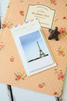 kawaii korean Polaroid PHOTO-IT lomo style PARIS Eiffel memo sticky note post-it, £3.50