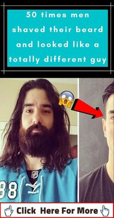 50 times men shaved their beard and looked like a totally different guy Hair And Beard Styles, Long Hair Styles, Best Action Movies, Adventure Movies, Cool Gadgets To Buy, Double Standards, 7 Habits, Learning To Be, Negative Thoughts