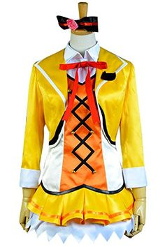 Cosplaybar Womens Cosplay Costume LoveLive Rin Hoshizora Stage Uniform Tailor Made * Want to know more, click on the image-affiliate link.