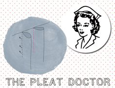 Read the article 'How to Mark, Lay, and Sew Various Types of Pleats' in the BurdaStyle blog 'Daily Thread'.