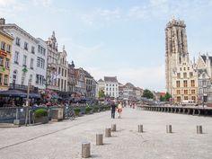Town Square in Mechelen, Belgium