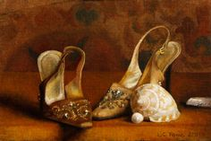 Louise Fenne | OIL | Shoes and Shells