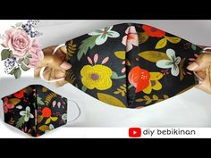 😷 (New) Face Mask Sewing Tutorial - Easy and Breathable - Diy face mask at home #clothfacemask - YouTube Sewing Tutorials, Sewing Crafts, Diy Face Mask, Face Masks, New Face, Mask Making, Homemade, Fabric, Pattern