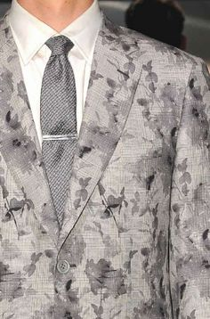 patternprints journal: PRINTS, PATTERNS AND DETAILS FROM RECENT MILAN FASHION WEEK (MENSWEAR SPRING/SUMMER 2015) / Brioni