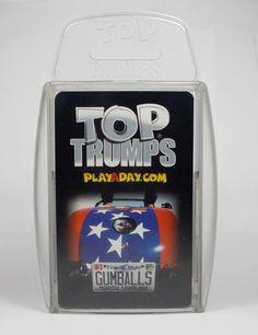 Top Trumps - Gumball 3000 - Complete Set