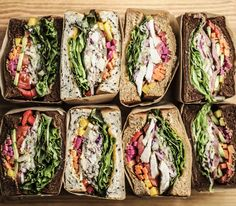 Pin by Shizuka O on Place for Dinner Sandwich Packaging, Food Cart Design, Brunch Cafe, Onigirazu, Food Porn, Ground Turkey Recipes, Cafe Food, Aesthetic Food, Food Inspiration