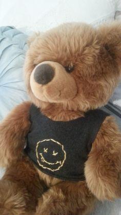 teddy t-shirt, DIY 5 Seconds, 5sos, Girly, Teddy Bear, Cute, Summer, T Shirt, Animals, Blogging
