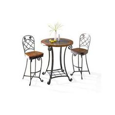 Harmony Pub Table and Chairs by Riverside Furniture