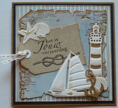 """Marianne Design Creatables Dies: """"Light House"""" / """"Sea Shells"""" / """"Classic Boats"""" (Note to self: all sold separately)"""