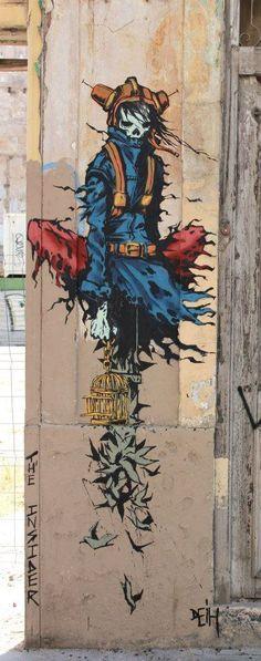 Deih - Street Artist: