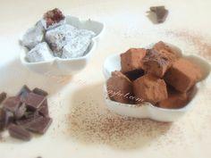 "kostka truflowa ""earl-grey"" (czekolada 70%, śmietanka 36%. herbata ""earl-grey"", kakao)"