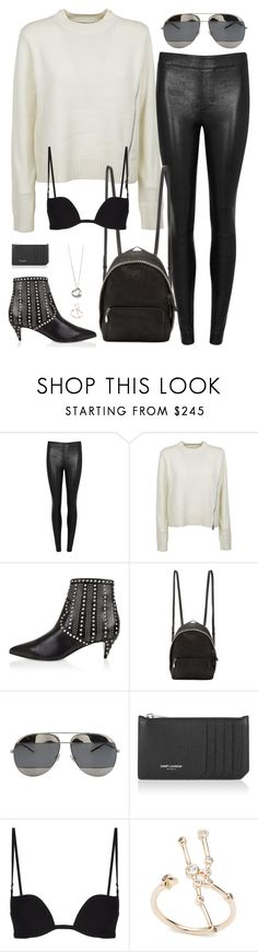 """""""Untitled #2971"""" by briarachele on Polyvore featuring Helmut Lang, Proenza Schouler, Yves Saint Laurent, STELLA McCARTNEY, Christian Dior and Elsa Peretti"""
