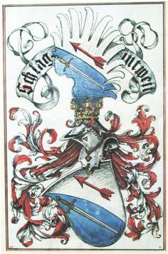 Wappen der Familie Schlaginweit / Schlaginweit Family Coat of Arms