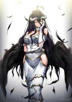 anime hentai overlord albedo at DuckDuckGo Sucubus Anime, Comics Anime, Chica Anime Manga, Anime Demon, Anime Art, Albedo, Manga Sexy, Anime Sexy, Girls Anime